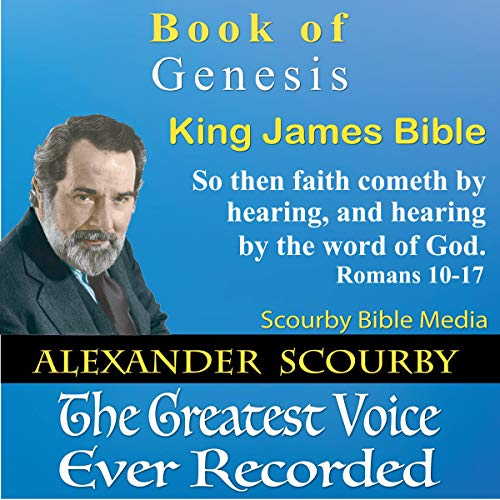 Book of Genesis, King James Bible audiobook cover art