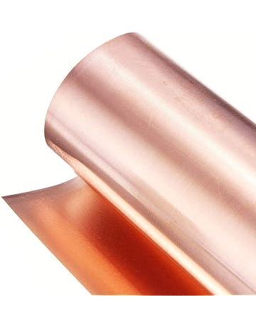 JKGHK Brass Metal Thin Sheet Foil Plate 10mm x 1000mm,0.1mm x 10mm x 1000mm