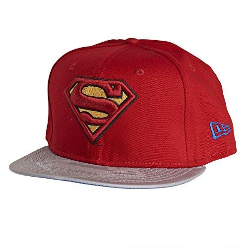 New Era 950 Reflecto Superman Snapback Cap (Small-Medium 54.9cm - 59.6cm)