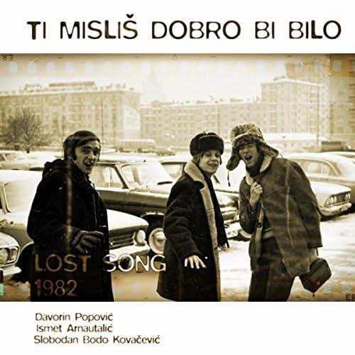 Davorin Popovic, Ismet Arnautalic & Slobodan Bodo Kovacevic