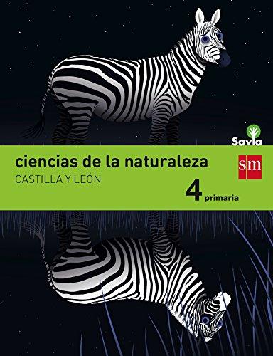Ciencias de la naturaleza. 4 Primaria. Savia. Castilla y León - 9788467579987