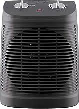 ZP-Heater Calefactor Portátil Eléctrico,PTC Elemento de Cerámica Ventilador Calefactor de Aire Caliente 1200W con Viento Calor y Natural