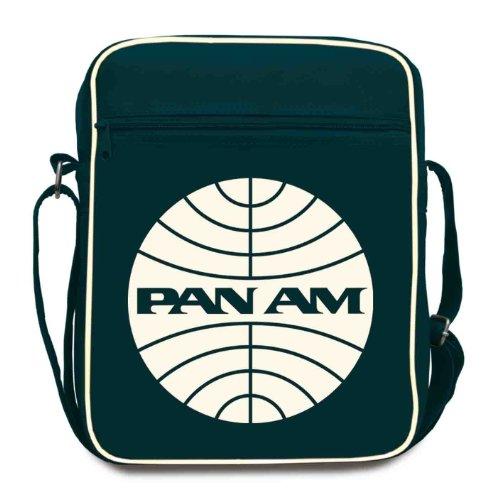 Logo shirt Pan Am(L), dames schoudertas, blauw – blauw