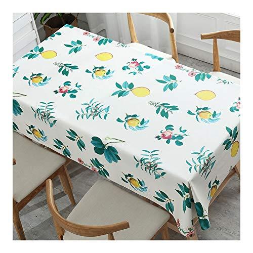 - Mantel de cocina rectangular antifading, mesa de tela antipolvo lavable, funda de mesa para la cocina exterior y mesa resistente a las manchas de interior, impermeable y antisuciedad, 2#, 120*180cm