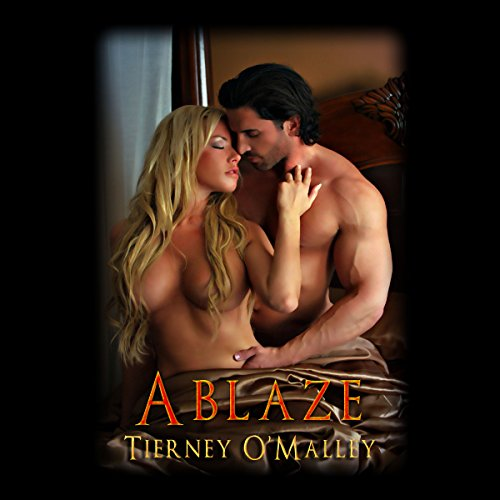 Ablaze audiobook cover art