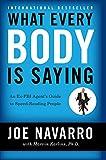 Mentalismo.xyz - 3 mejores libros de mentalismo - What every body is saying - Joe Navarro