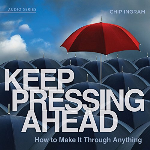 Keep Pressing Ahead audiobook cover art
