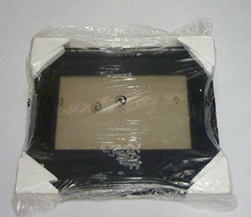 Indesit – Deur met glas voor oven van roestvrij staal.