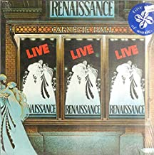Renaissance Live At Carnegie Hall (2 Record Set) Tracklist: Prologue, Ocean Gypsy, Can You Understand, Carpet Of The Sun, Running Hard, Mother Russia, Scheherazade, Ashes Are Burning