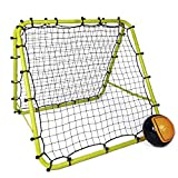 Football Master ™ Fluorescent Green Double Sided Multi Skills Rebounder Training Aid Target