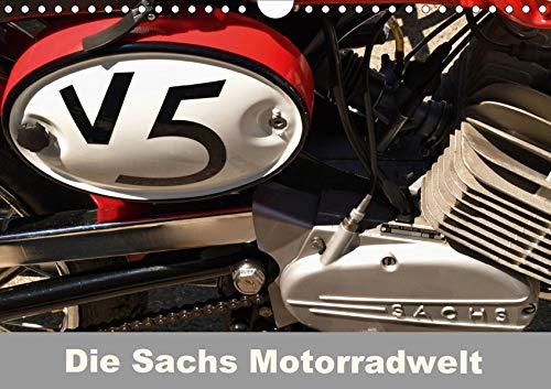 Die Sachs Motorradwelt (Wandkalender 2020 DIN A4 quer): Ein spezieller Kalender für Kreidler, Zündapp und Macal Fans (Monatskalender, 14 Seiten )