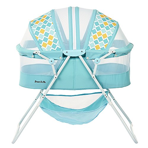 Dream On Me Karley Bassinet, Aqua Blue