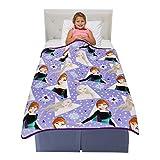 Franco Kids Bedding Super Soft Plush Throw Blanket, 46' x 60', Disney Frozen 2
