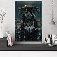 ポスター壁アートワーク絵画プリントヘビ刺身麦わら帽子剣士寝室の家の装飾のためのモジュラー写真 20x30inch