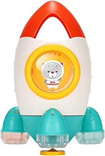 Dorakitten Bath Toy Rocket Shape Creative Water Spray Toy Sprinkler Toy Bathtub Toy Swimming Pool Shower Toy for Kids