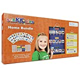 SchKIDules Visual Schedule for Kids Home Bundle: Daily Calendar and Weekly Progress Chart w/18
