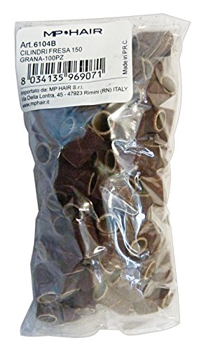 gnp Fresa Cilindri 6104b Ricambi Grana 150 X 100 Pezzi Prodotti per Capelli
