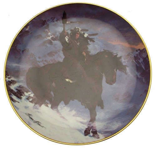 Franklin Mint Spirit of the West Wind collector plate Herman Adams CP743 -  5055200985546