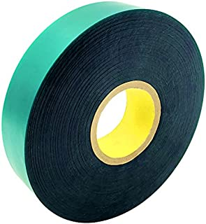 Ugold 8mil Thick 150 feet x 1'' Extra Wide Stretch Tie Tape Plant Ribbon Garden Green Vinyl Stake
