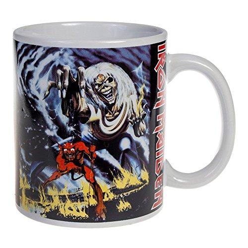 Iron Maiden - Number of the Beast - Taza de cerámica - Envío GRATUIT