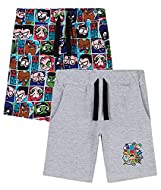 TEEN TITANS GO SHORTS FOR BOYS -- time to relax after a long day of fighting crime with your favourite Teen Titans superheroes Raven, Star Fire, Beast Boy, Cyborg and Robin! These kids shorts are soft and comfortable, they come with 2 side pockets an...