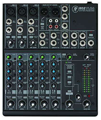 Mackie 802VLZ4 - Mixer audio per DJ (20 - 20000 Hz)