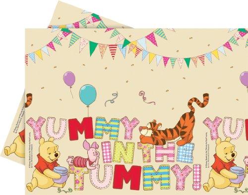 Disney Winnie the Pooh Alphabet Tischdecke Kindergeburtstag