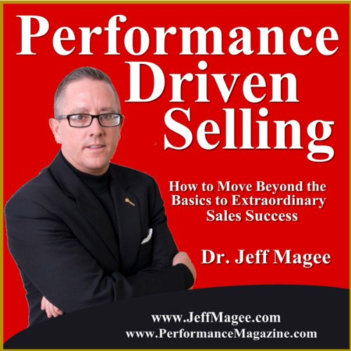 Performance Driven Selling cover art