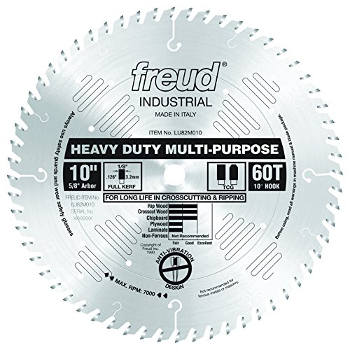 Freud LU82M010 10' Heavy Duty Multi-Purpose Blade