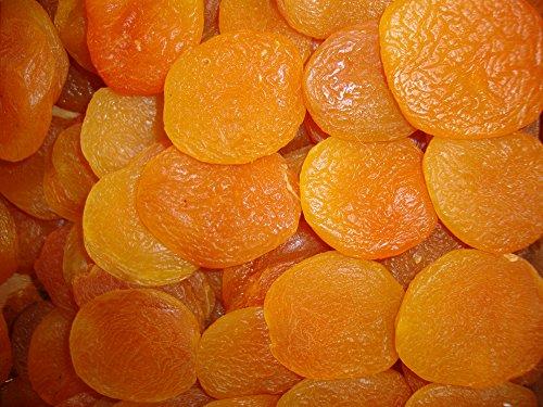 Dorimed - Aprikosen getrocknet, Ganze Aprikosen, Trockenobst ungezuckert, ohne Stein, getrocknete Früchte, ungesüßt, 1 kg