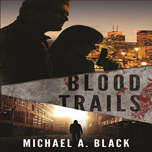 Blood Trails audiobook cover art