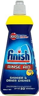 Finish Dishwasher Rinse Aid Liquid Lemon, 400ml