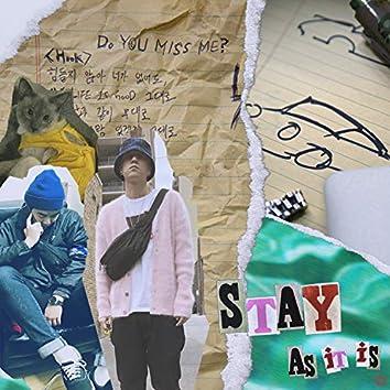 Stay (as it is) (feat. niahn)