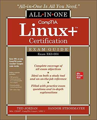 CompTIA Linux Certification All in One Exam Guide Exam XK0 004 product image