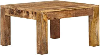 vidaXL Solid Mango Wood Coffee Table Wooden Home Indoor Living Room Couch Accent Side End Tea Telephone Table Desk Furnitu...