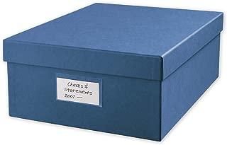 check stub storage box