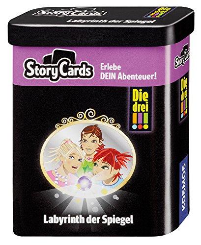 KOSMOS 688035 - Story Cards - Die drei !!! Labyrinth der Spiegel