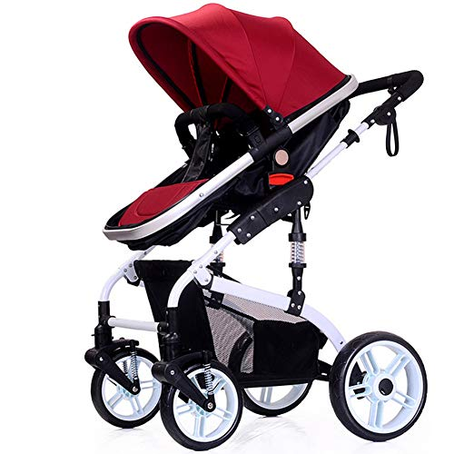 Great Price! AIURLIFE Baby Stroller, 2 in 1 Convertible Carriage Bassinet to Stroller, Pushchair wit...