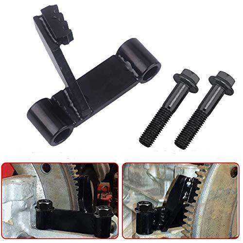 Chelhead Engine Flywheel Locking Tool Steel Black Oxide Flexplate Holding Tool Compatible with Chevy LS 1 2 3 LSX