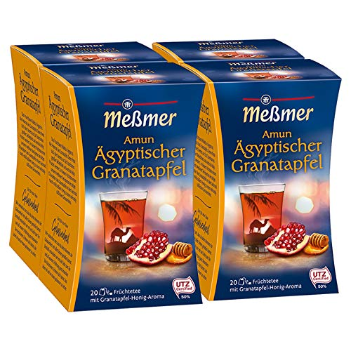 Meßmer Ägyptischer Amun Granatapfel-Honig 4er Pack