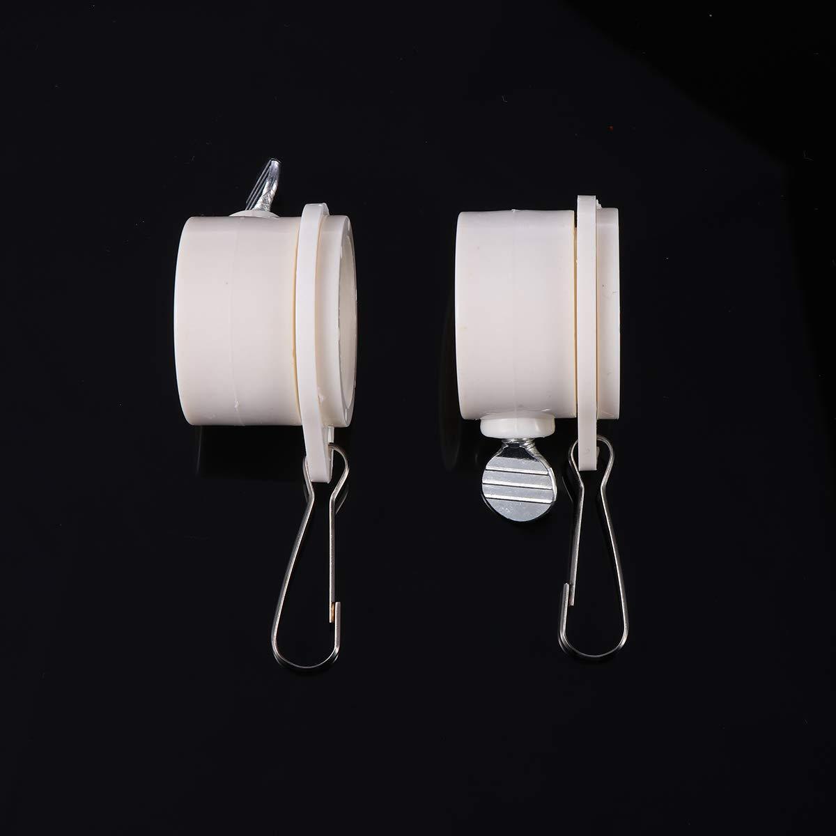 OUNONA - Juego de 2 anillos giratorios de montaje de 360 grados ...