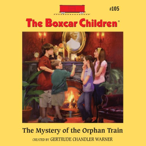 The Mystery of the Orphan Train cover art
