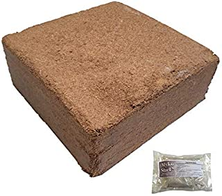 EZ-Earth Organic Potting Soil Coconut Coir for All Pots Raised Beds 2+Cu ft by Victory 8 Garden
