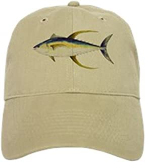 25f62572 CafePress - Yellowfin Tuna Hat - Baseball Cap with Adjustable Closure,  Unique Printed Baseball Hat