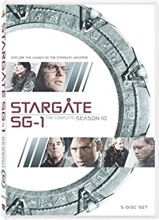 Stargate Sg-1 Season 10 (5pc) (Ws Dub Sub Ac3) [DVD] [1998] [Region 1] [US Import] [NTSC] (B000PMFRTC) | Amazon price tracker / tracking, Amazon price history charts, Amazon price watches, Amazon price drop alerts