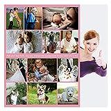 Haisimiery Personalisierbare Foto-Decke aus Fleece, personalisierbar, mit Bild, Geburtstag, Hochzeit, Geschenk für erwachsene Babys, Haustiere, 120 x 150 cm