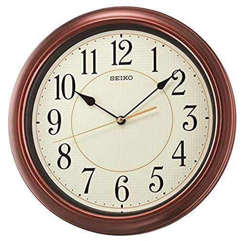 Seiko Reloj de Pared con Acabado de Madera numerado de 33 cm