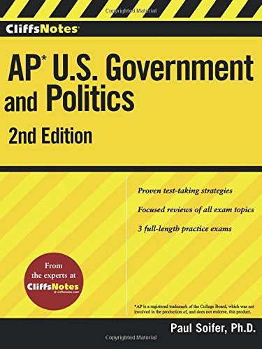 CliffsNotes AP U.S. Government and Politics 2nd Edition (Cliffs AP)