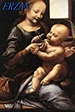 FDerks Puzzles for Adults 1000 Piece Leonardo da Vinci Madonna and Child with Flowers Puzzles for Family Friends Couples