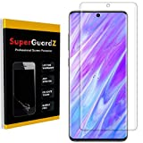 [3-Pack] for Samsung Galaxy (S20 Ultra) Screen Protector [3D Curved Full Coverage], SuperGuardZ, Anti-Glare, Matte, Anti-Fingerprint [Lifetime Replacement]